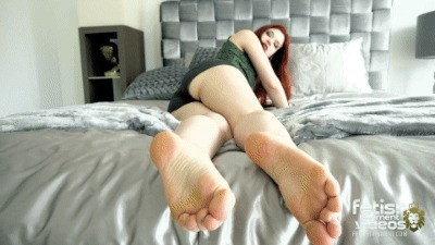 You will go to the end of the bed and spoil my feet