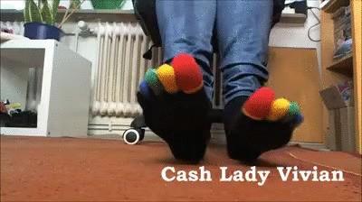 My sweet toe socks! 3