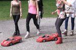 5 Girls On Model Cars 1 - Part F