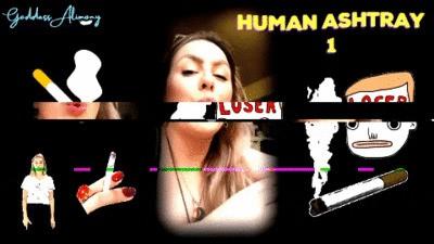 HUMAN ASHTRAY 1 #VIDEO