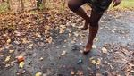 Crush Walking In The Forest With My New Boots