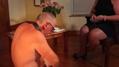 Dominatrix Mistress April - Life at her Feet part 2