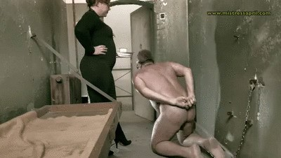 Mistress April Cell 45 Clean up