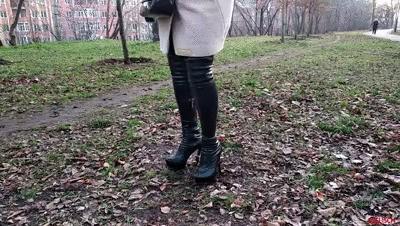 Walking and smoking