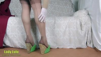 Lady Lulu wedges shoeplay havana fully fashioned