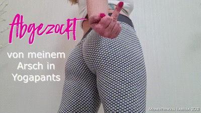 Abgezockt von meinem Arsch in Yoga Pants