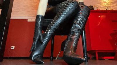 Boot fetish Lady