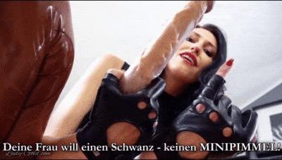 Deine Frau will einen Schwanz – keinen Minipimmel!