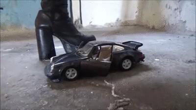 Porsche Demolition