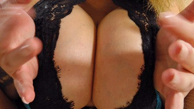 Your face between her tits
