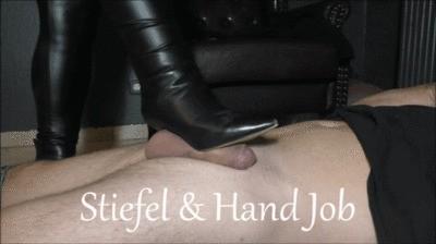 Stiefel und Handjob