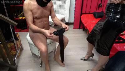 Lady Scarlet - A hard sissy training - part 1