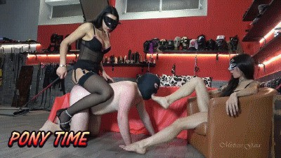 MISTRESS GAIA - PONY TIME - HD