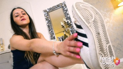 Lick my dirty working sneakers