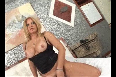 Cute Girl Gets Fucked Hard In Threesoome With Wild Shemale