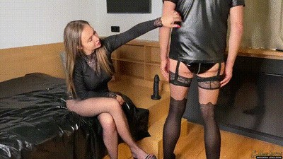 Anal stretching - extreme giant cock