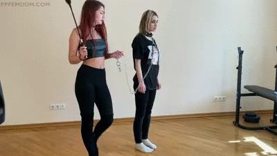 Mistress Sofi Train Her Slave-Girl - Lezdom Pet Play