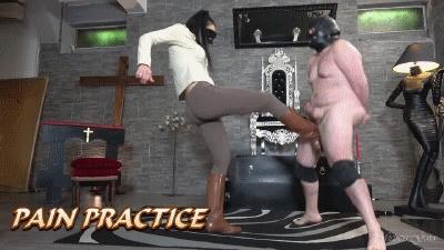 MISTRESS GAIA - PAIN PRACTICE - HD