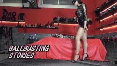 MISTRESS GAIA - BALLBUSTING STORIES - HD