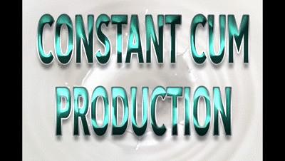 CONSTANT CUM PRODUCTION - Audio