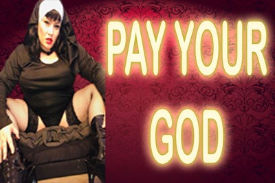 PAY YOUR GOD