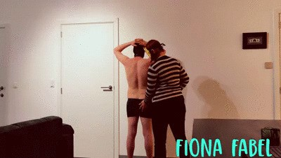 Slave does his chores and serves his Mistress
