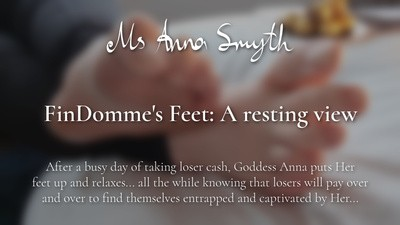FinDomme's Feet: A resting view