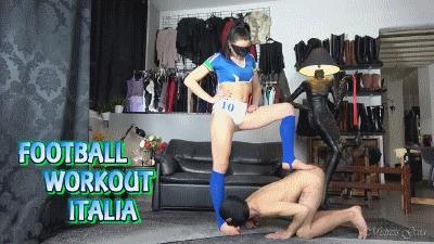 MISTRESS GAIA - FOOTBALL WORKOUT ITALIA - HD