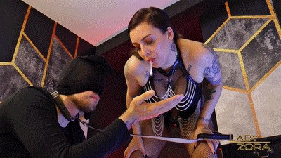 Slave Dog Disgust Training (SD Clip)