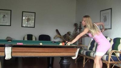 billiard room humilation Part 1 HD