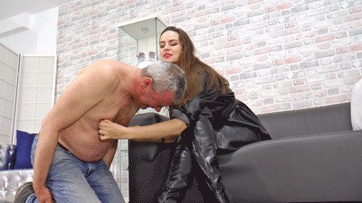 He suffers for Mistress Anfisa