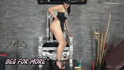 MISTRESS GAIA - BEG FOR MORE - HD