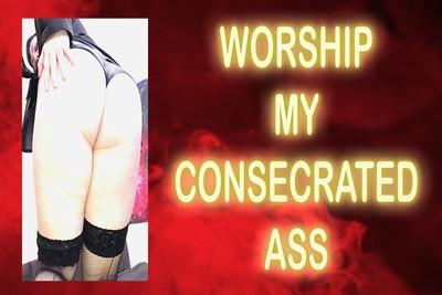 WORSHIP MY CONSECRATED ASS