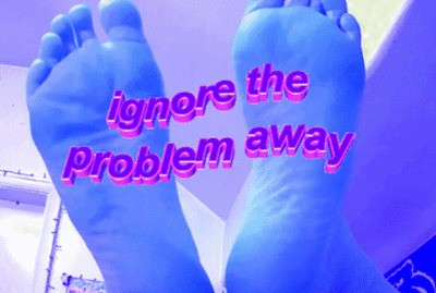 IGNORE THE PROBLEM AWAY #VIDEO