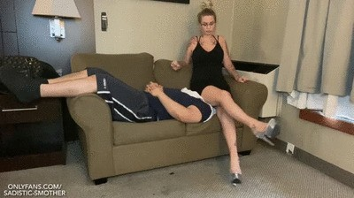 Human Couch: Secretary Smothering Slave - Princess Natalie - Episode 20 - {HD}