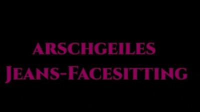 arschgeiles Jeans-Facesitting