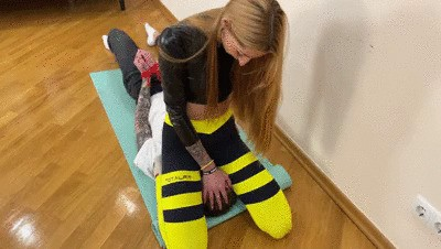Domme Agma Smother Femdom With All Parts Of Her Body - Trample, HomSmother, Foot Smother, Ass Smothering
