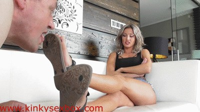 Goddess Tatjana Shoe and Feet Worship HD