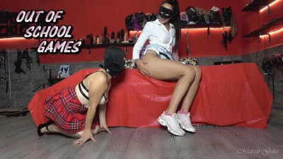 MISTRESS GAIA - OUT OF SCHOOL GAMES - HD