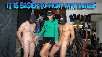 MISTRESS GAIA - IT IS EASIER TO FIGHT WITH MALES - HD