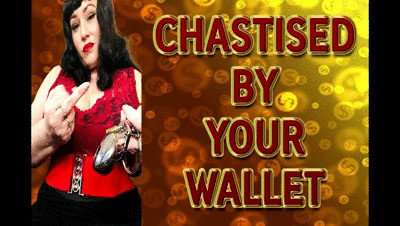 CHASTISED BY YOUR WALLET
