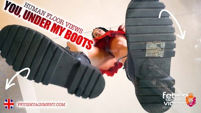 You will be crushed under my boots