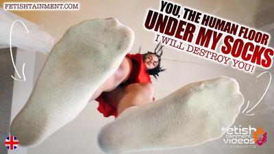 You as a living floor under my socks.