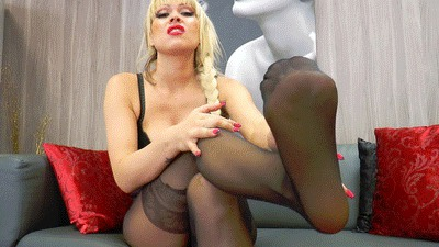 Gu buy my worn nylon-pantyhose!