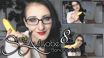 Sissy Task 8 - Bananafuck